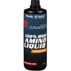 Body Attack - Beef Liquid Amino 1000 ml